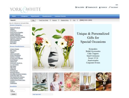 York & White